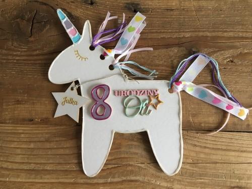 Zaproszenia Urodzinowe Unicorn Kreatywna Pracownia Tadam